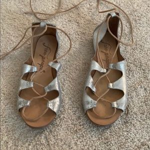 Free People Lace Up Sandals size 8